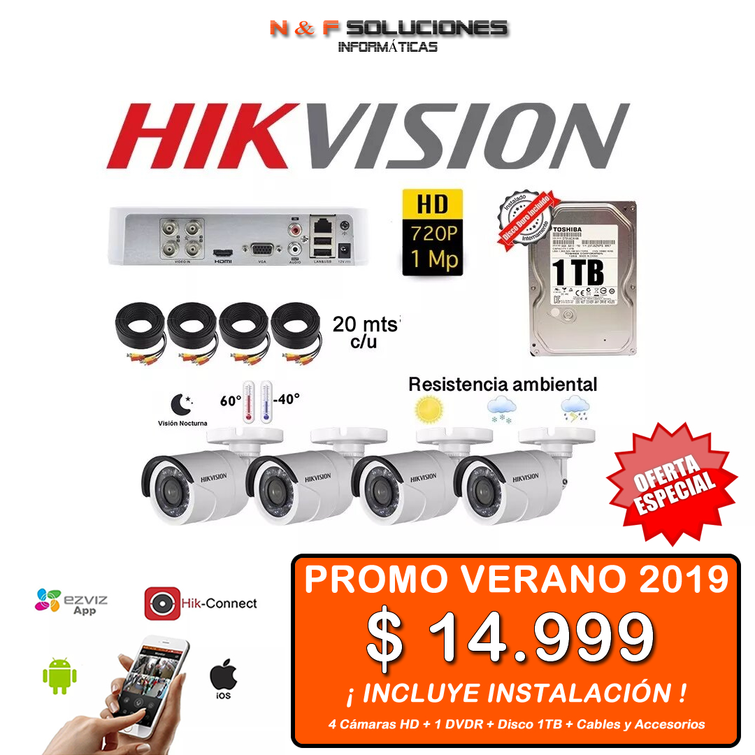 Kit Seguridad Hikvision